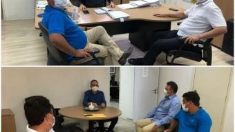 Prefeito Luiz Claudino mantém audiência com secretário de saúde do Estado e recebe sinal verde para parceria com Hospital. Veja!